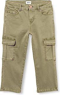 ONLY 女士 Onlmissouri Reg Life Cargo Knickers PNT Capri 长裤