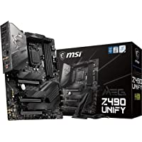 MSI MEG Z490 UNIFY 主板 ATX [搭载Intel Z490芯片组] MB4951