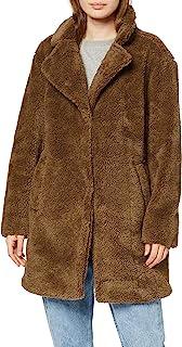 Urban Classics 女士冬季大衣超大羊羔绒外套