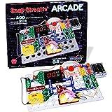 """ELENCO Snap Circuits """"街机""""玩具,电子设备探索套装,适合8岁以上rere'qun n的活动,多色…"""
