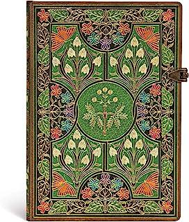 Paperblanks 记事本 带阅读带 & 内袋 | 开花诗 | 中号 (230 x 180 毫米) | 144页 | 横格