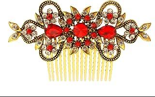 Vogue 发饰复古*系列婚礼派对花式新娘发箍(红色)