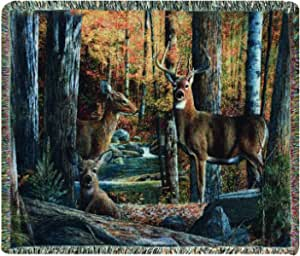 Manual The Lodge Collection 50 x 60-Inch Tapestry Throw, Broken Silence by Kevin Daniel