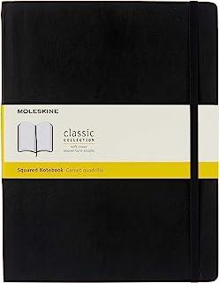 Moleskine 方格 软皮 笔记本 记事本 手账 加大型