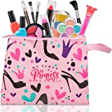 FoxPrint My First Princess 化妆套装-12件儿童化妆玩具,可水洗,这些女孩化妆玩具包括公主需要…