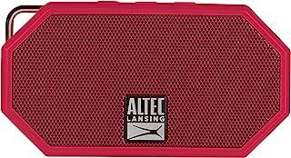 Altec Lansing IMW257-BLK 迷你 H2O 防水蓝牙扬声器IMW257-DR IMW257-DR 2.25 x 1.00 x 4.13 inches