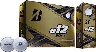 Bridgestone Golf e12 软高尔夫球,白色
