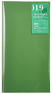 MIDORI TRAVELER'S Notebook 经典周记本内芯 标准型 019