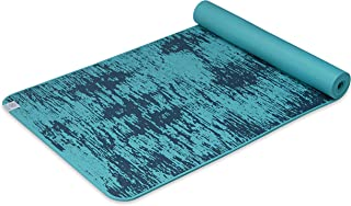 "Gaiam 瑜伽垫 - 6mm Insta-Grip 超厚和密实的纹理防滑练习垫,适用于各种类型的瑜伽和地板锻炼,68"" 长 x 24"" 宽 x 6mm 厚"