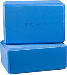 YOGU 瑜伽砖 1 个或 2 个套装