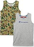 Champion 男童 2件装圆领T恤 CB3-R701