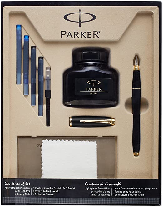 parker how to write with a fountain pen booklet