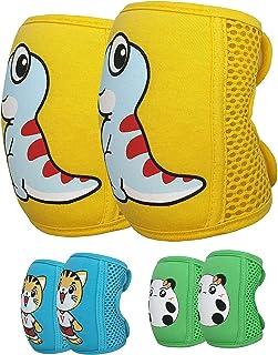婴儿爬行护膝(3 双装),可调节婴儿/幼儿护膝,爬行护膝,保护护膝