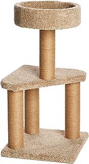 AmazonBasics 猫咪活动树,带有猫抓柱 中