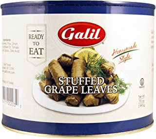 Galil Stuffed Grape Leaves, Large, 70-Ounce Cans (Pack of 2)