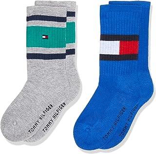 Tommy Hilfiger 汤米希尔费格男式袜子(2 件装)