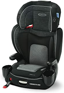 Graco TurboBooster Grow Highback featuring RightGuide Seat Belt Trainer, West Point