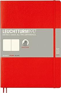 LEUCHTTURM1917 灯塔B5无格创作本红色软封皮(B5)