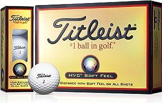 TITLEIST 泰特利斯特 高尔夫球 HVC SOFT FEEL 1打 (12个装) 日本正品