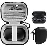 CaseSack 保护壳适用于 Bose QuietComfort 降噪耳塞 - 真正的无线耳机,网眼配件口袋,小巧轻便…
