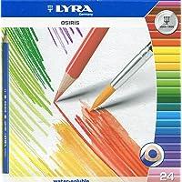 德国 LYRA 艺雅 3.3mm水溶笔芯24色水溶彩色铅笔L2531240