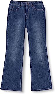 Cecile 牛仔裤 微喇叭型 4种长度可选 穿着舒适 AW-944 女士
