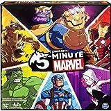 Spin Master 5分钟惊奇漫画纸牌游戏 适用于惊奇漫画的粉丝和8岁以上的儿童