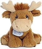 Aurora Monty 驼鹿毛绒玩具,棕色