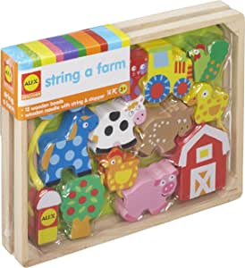 ALEX 玩具小手串 A Farm(农场主题)