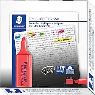 STAEDTLER施德楼 标记笔 楔形笔头 (盒装/10入)364-2 约1 - 5 mm 红色