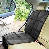 Sunferno 汽车座椅保护罩 - 保护您的汽车座椅免受婴儿汽车座椅的倾斜、灰尘和泼溅 - 防水厚垫保护装置,让您的汽…