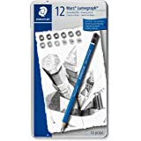 Staedtler Lumograph Graphite Drawing and Sketching Pencils 1…