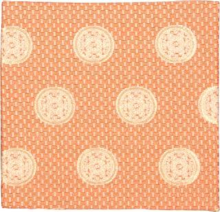修房(Syusai) 古帛纱 朱 尺寸:纵15.6x横15x厚0.3cm 交织 纱帘裂 大花纹