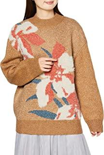 Lily Brown 花卉JQ针织套头衫 LWNT205052 女士