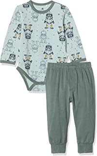 CELAVI 男婴睡衣套装柔软品质两件套睡衣