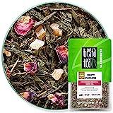 草莓菠萝绿茶   水果卵石 1.6 盎司袋装 来自 tiesta tea   中咖啡因   叶绿茶混合物