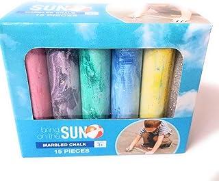 Bring On The Sun Sidewalk 粉笔 15 件 5 种颜色