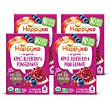 Happy Squeeze Organic Superfoods Twist Apple Blueberry Pomeg…