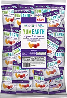 YumEarth *热带水果零食 0.7 Ounce (Pack of 50)