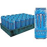 Monster Energy Ultra Blue, Sugar Free Energy Drink, 16 Ounce…