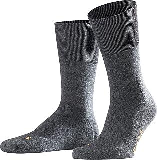 FALKE 中性款跑步袜 - 棉质,多种颜色,英国尺码 2.5-16(欧码 35-52),1 双 - 低帮训练袜,男女通用,带毛绒鞋底