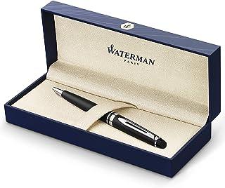 Waterman Expert 啞光黑色圓珠筆,中藍色筆芯 (S0951900)