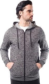 Brooklyn Athletics 男士羊毛连帽衫全拉链活力连帽运动衫