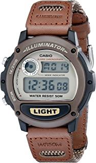 Casio 卡西欧 男式 w89hB-5AV Illuminator 尼龙 bancd 运动手表