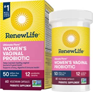 Renew Life Ultimate Flora女性呵护益生菌- 500亿- 60粒蔬菜胶囊