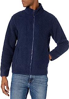 Amazon Essentials 男式羊羔绒全拉链夹克