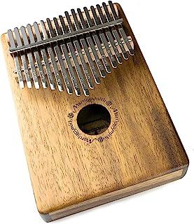 Martin Smith KALIMBA17 17 键 Kalimba 拇指钢琴 带刻字笔记保护手提箱和调音锤