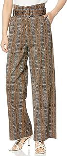 DOUBLE STANDARD CLOTHING D/Nero 格子提花长裤 4806-271-203 女士
