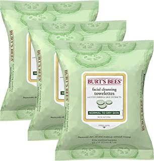 Burt's Bees 零敏洁面巾 Cucumber and Sage 30份(3片装)