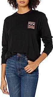 Billabong 女式长袖图案 T 恤